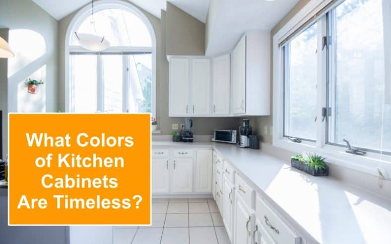 Timeless kitchen cabinet colors