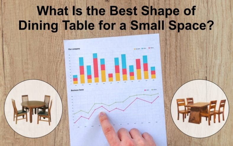 best shape of dining table for small space