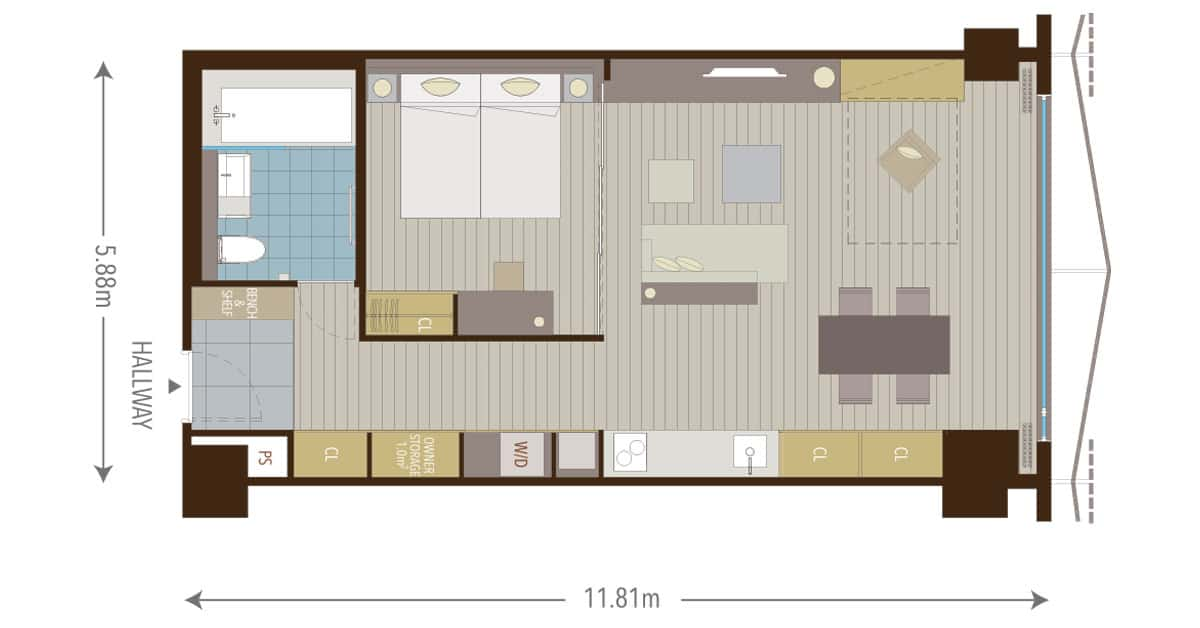 What Is a 1.5 Bedroom Apartment?