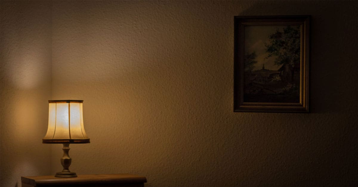 Is It Safe To Leave A Lamp On All Night?
